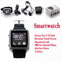 Cheap Smartwatch Smart Bluetooth Smart Watch Sync For Mobile Phone Smartphone Anti-lost