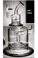 Wholesale Black color Mini bubbler glass ash catcher inline percolator water pipe