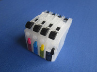 Wholesale Normal size LC103 LC105 LC107 LC123 LC125 LC127 LC133 LC135 refillable ink cartridge for Brother MFC J4410DW J4510DW series printer