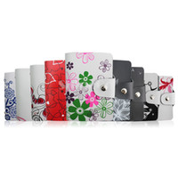 Card Holders Credit Card Floral New Arrivals Lady Girls Real Leather Credit Card Holders Pocket ID Smart pouch Cases Wallets Multi Smart Designs Fashion Gift 10pcs lot