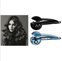 Wholesale Newest Pro Perfect Automatic Curl Hair Curlers Hair Roller Curl Curling Salon Hair Iron Machine Wands US EU AU UK Plugs