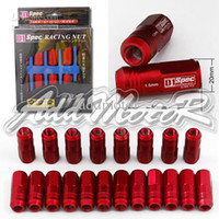 Wholesale Addmotor X JDM D1 Spec Racing Lug Wheel Nuts Screw Red Honda Ford Toyota CS011