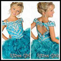 Cheap Model Pictures Girls pageant dresses Best Girl Beads girls wedding dresses