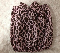 Girl Summer Cotton Blends newborn Baby girl mini summer leopard print bowknot wrapped chest strapless vest