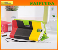 Cheap Hand Strip Wallet PU Leather Case Cover With Card Slot Stand For Samsung Galaxy Note 3 note 2 N7100 N9000