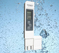 Wholesale High Quality TDS Tester EC Meter Conductivity Meter Water Measurement Tool Function in ppm