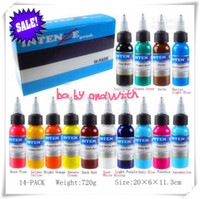 Wholesale Set Of Bottles New Intenze Tattoo Ink Colors x1OZ Pigment Supply High In Quality