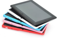 Wholesale NEW quot Dual Core CPU Android MB DDR GB NAND Flash Action ATM7021 WIFI Cameras HDMI inch tablet pc