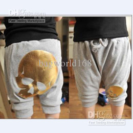 Wholesale new arrival Summer pants boys skull pants clothing baby cheap clothing cotton