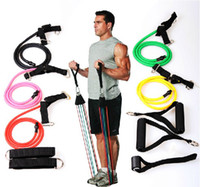 Wholesale Super A quality Fitness Resistance Bands in Set Exercise Tubes strength Training Rope by myeshop