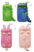 Envelope Cold Weather 140X60cm Baby Sleeping Bags Cartoon Keep Warm Prevent Kicked Cotton Quilt 4Pcs Lot