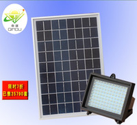 Wholesale Solar Led Flood Lights Leds Garden Outdoor Projecting Landscape Lawn Lamp Solar Powered Wall china post send free gogo001
