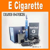 Electronic Cigarette Set Series  Micro G pen Snoop Dogg blue Wax E-cigarettes kits herbal dry herb atomizer from Grenco Science LBC dry herb vaporizer pen vapor 0211032