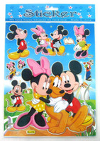 Wholesale Removable Cartoon Mice Mouse X20cm Sheets PVC Sticker Art Mural Note Decal