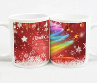 In the 2014 Christmas gifts creative ceramic couple cups Chr...