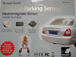new Car Reverse Backup Radar,parking safety Electromagnetic parking sensor no holes no drill,Parking Assistance