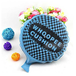 Children student Funny Self Inflating Flarp Whoopee Cushion Fart Sound Gag Prank Joke Party Gift kids april fool's day joke funny toys