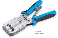 Wholesale Ratchet Cat6 P P RJ45 RJ11 Network Crimping Tool with striper cutter function
