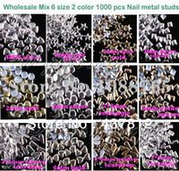 Black Round Rhinestone & Decoration 3D Neon Metal Acrylic Nail Art Decoration Rhinestones Mix 20 Designs Round Square Nail Metallic Studs Cell Phone Accessories