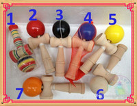 Wholesale High quality big size cm Kendama Ball Japanese Traditional Wood Game Toy Education Gift Novoty toy color