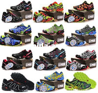 Wholesale Cyber Monday outdoor sport shoes zapatillas salomon hombre outdoor sneakers men s wear resisting running shoes