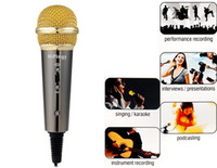 Wholesale HiFing Microphone for Mobile Phone Pad PC KTV