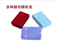 Wholesale Assorted Colors Jewelry Sets Display Box Necklace Earrings Ring Box Packaging Gift Box mixed