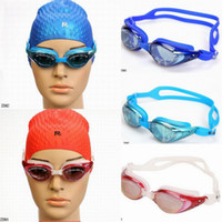 Wholesale Cool Women Men Swimming Goggles Trendy Waterproof Diving Swim Glasses Colors Choose ZDM