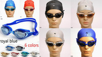 Wholesale Unisex Swim Goggles Waterproof Airtight Dive Swim Glasses Fit Face Feature ZDM