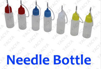 Wholesale plastic needle bottle for e liquid with colorful cap tip ml ml ml ml ml avaiable hot selling in USA UK from flying2013