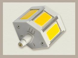 COB R7S 7W Warm White White LED Flood Light Bulb 78mm AC85~265V