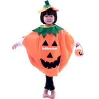 Christmas Event & Party Supplies Halloween Free shipping, Halloween children's clothes masquerade costume pumpkin clothing hat bucket, Drop shipping, PW0029