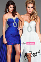 Reference Images Chiffon Sweetheart 2014 Cheap Homecoming Dresses Sexy Sweetheart Crystals Sequins Ruffle Chiffon Hi Lo Ceremony Prom Cocktail Gowns 6089L