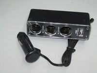 Wholesale of for USB Car Cigarette Lighter Socket Splitter Charger cell phone car kits