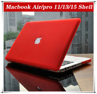 Wholesale Rubberized Fosted Matte Matt Transparent Rubberized Cover Case For Macbook Mac Book All Models Air Pro Retina inch Protective Shell