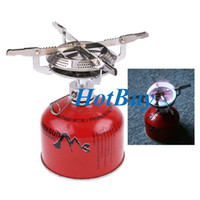 Wholesale Portable Outdoor Stainless Steel Camping Picnic Stove BBQ Burner Cookware