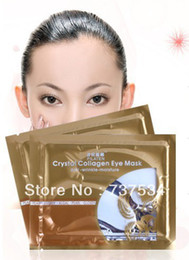 Wholesale Crystal Collagen Eye Mask pair of loaded bags replenishment to fine lines to dark circles