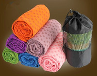 Wholesale Hot Health Care Skidless Yoga Towel Yoga Mat Non slip Yoga Mats for Fitness Yoga Blanket