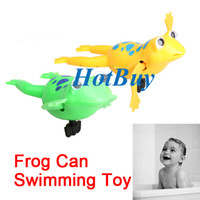 Wholesale New Party Favors Wind Up Swimming Frogs Pool Bath Luau Party Favors Swimm Toys