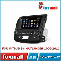Wholesale Android Car DVD Player MITSUBISHI OUTLANDER Touch screen CD Video CD Mp3 Mp4 JPEG