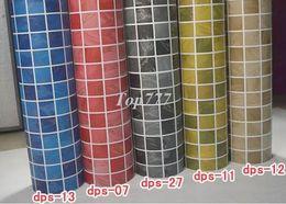 PVC Mosaic Wall Sticker, Self-adhesive wallpaper for Kitchen and Bathroom, ceramic tile Mosaic stickers, Imitation glass mosaic