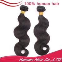 Wholesale 100 Brazilian Virginhair extensio remy Hair Weft Body Wave Queen Hair Weaves g inch DHL UPS FEDEX
