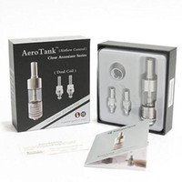Wholesale Kanger Original Aerotank Dual Coil ml Clearomizer Adjustable Air Flow Bottom Coil Zero Leaking for EGO Electronic Ecig