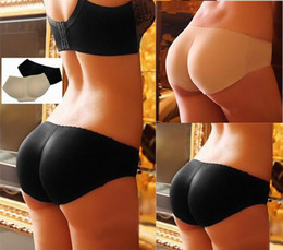 Wholesale Sexy Lady Curvaceous Underpant Woman Padded Buttock Underwear Fashion Girl Lift Hip Bum Butt Underwear DIE