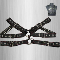 Wholesale Male Body Harness Sexy Sets Men Chastity Belt BDSM Sex Product Bondage Restraints Leather Harness
