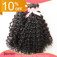 Hair Weft Weave 100% Brazilian Peruvian Malaysian Indian Vir...