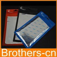 Wholesale 20 cm cm Clear alum Zipper Retail Package Packaging Plastic Bag Pouch For iPhone S S C Case Cover Phone Accessories