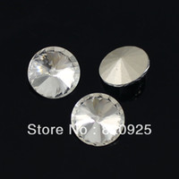 Wholesale 35 X Round Crystal Glass Stone Rhinestone Faceted Making Jewelry Table Scatter