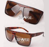 big cool box - Super flat top Cool Big square frame big box sunglasses women men unisex sun glasses oculos de sol Q3