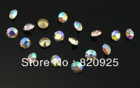 Wholesale 1440 SS10 Crystal AB Point Back Clear Sparkling Rhinestone Diamante